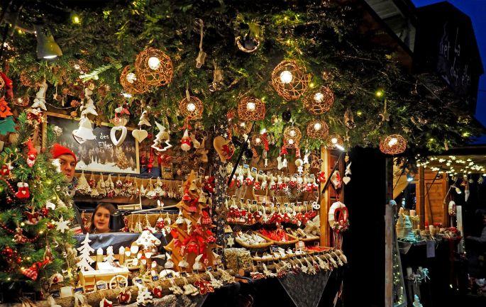 Des décorations pour son sapin à retrouver sur les stands du marché de Noël d\'Obernai