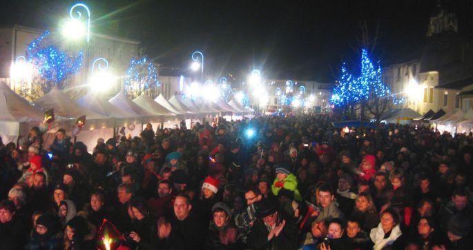 Le marché de Noël de St Nicolas de Port et son lot de stands