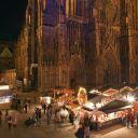 Noël 2017 à Strasbourg : Marché de Noël d\'artisanat de la Cathédrale
