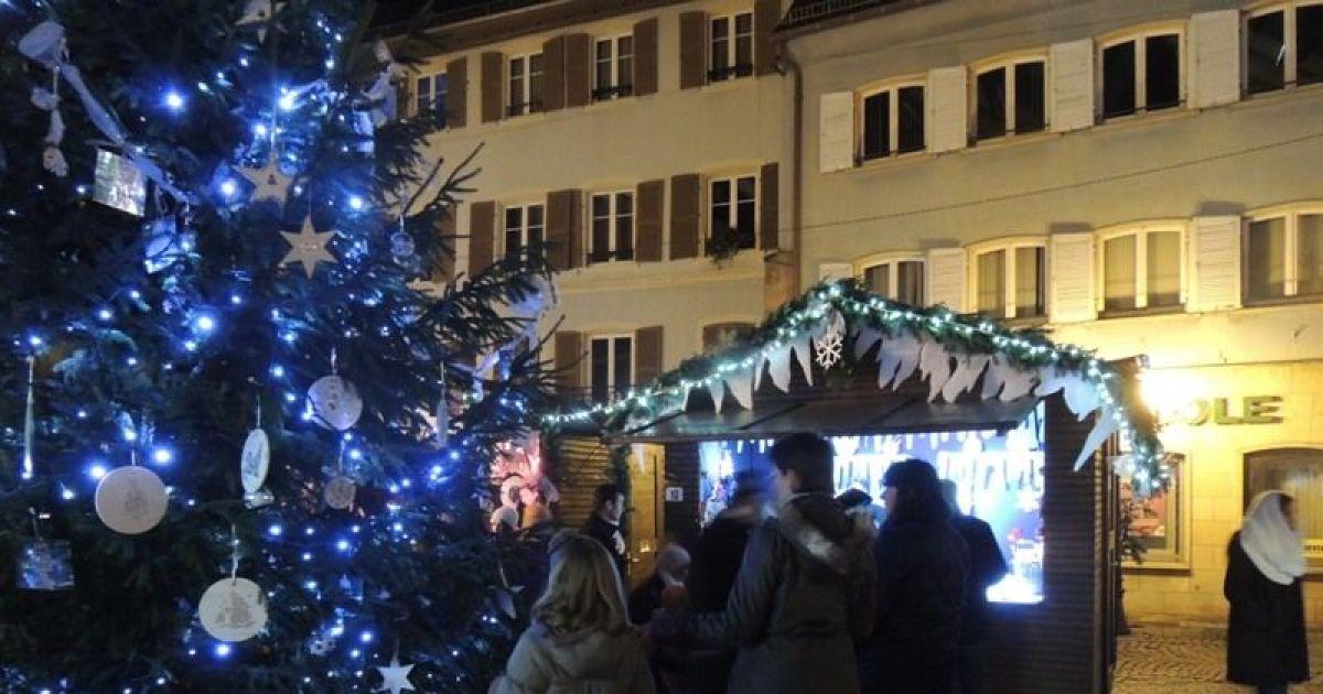 No l 2016 thann inauguration du march de no l - Marche de noel mulhouse 2016 ...