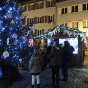 Noël 2017 à Thann : Inauguration du Marché de Noël