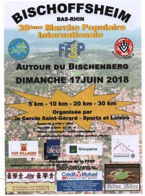 Marche populaire à Bischoffsheim 2018