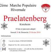 Marche populaire à Kintzheim 2019