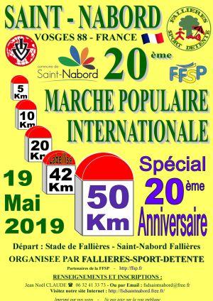 Marche populaire à Saint-Nabord 2019