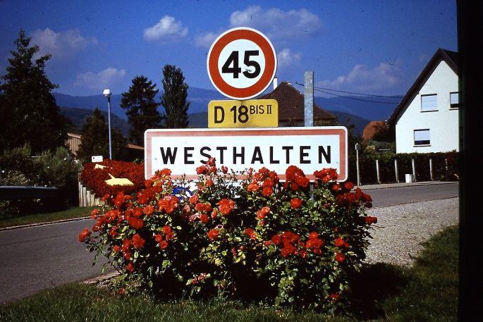 Le beau village de Westhalten à découvrir lors de la marche populaire