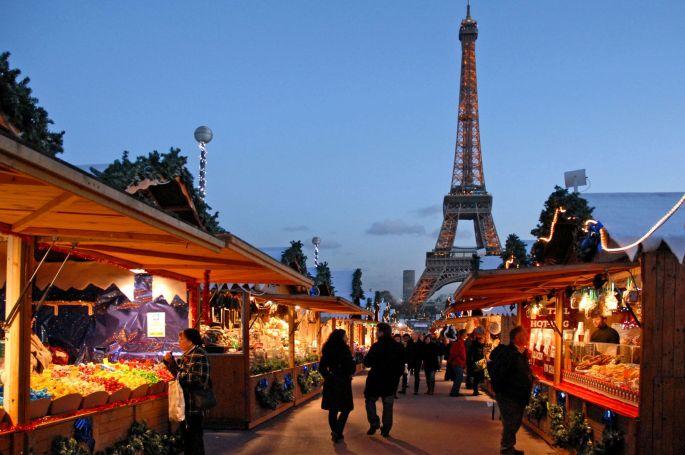 Marché de Noël du Trocadéro à Paris