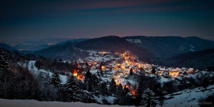 Marché de Noël à Grendelbruch, charmant village de montagne