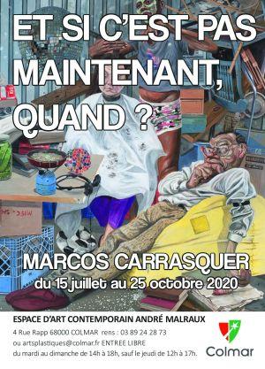 Marcos Carrasquer: Et si c\'est pas maintenant, quand?