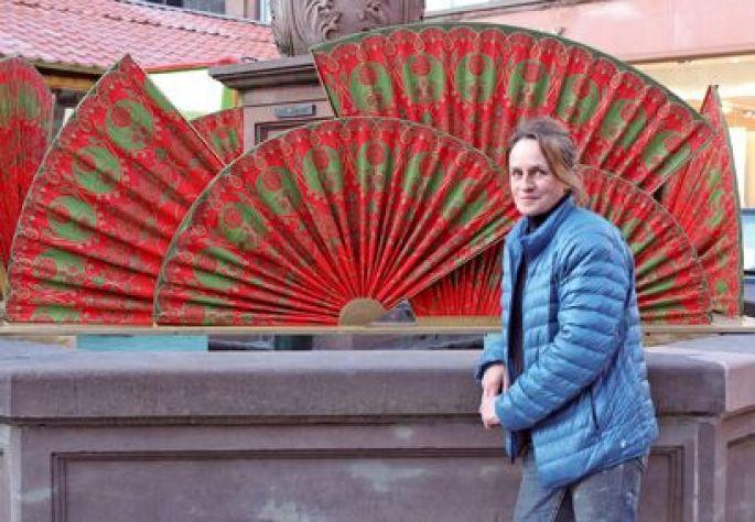 Marie-Jo Gebel, créatrice de l\'étoffe de Noël