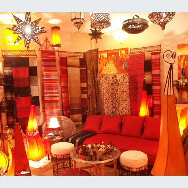 Le Marrakchi Mulhouse Decoration Deco Marocain Artisanat Narguiles Poteries Luminaires Magasin Boutique Haut Rhin