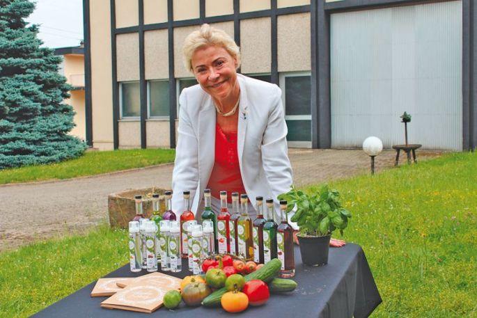 Manou Massenez Heitzmann a su faire prospérer la distillerie familiale