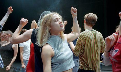 Masterclass danse avec Anja Röttgerkamp