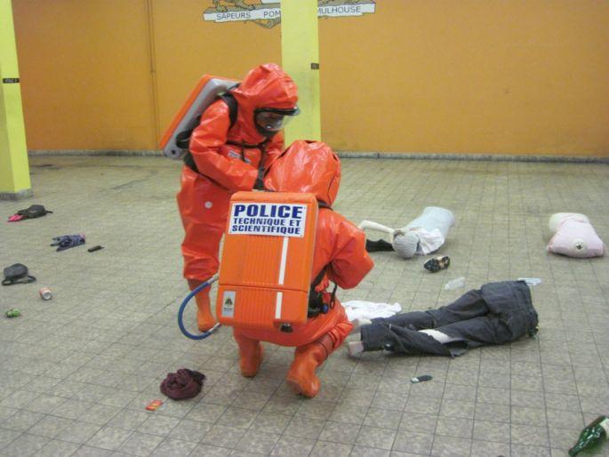 Des cas très pratiques sont présentés aux stagiaires du mastère spécialisé Gestion des risques et menaces nucléaires, radioactifs, biologiques, chimiques, et explosifs