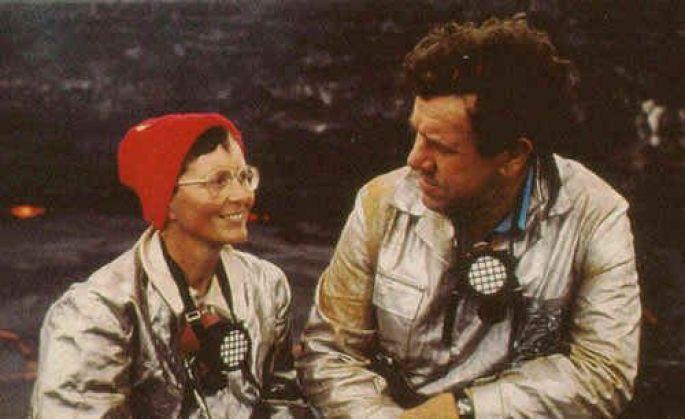 """Maurice et Katia Krafft, les """"volcano devils"""""""