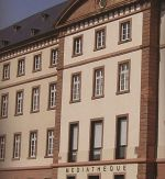 La façade de la Médiathèque de Haguenau