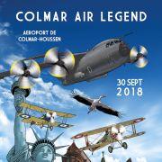 Meeting aérien Air Legend Colmar 2018