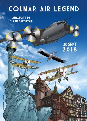 Meeting aérien Air Legend Colmar 2018