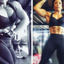 Mental d'acier, muscles gonflés : l'histoire de Peggy Borocco