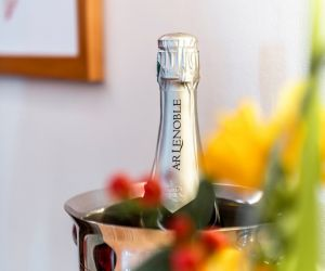 Menu du Nouvel An au Cheval Blanc à Baldersheim