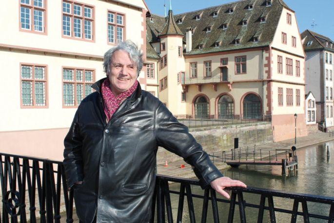 L\'illustrateur Mérel vit aujourd\'hui à Strasbourg