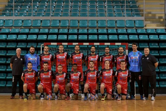 L\'équipe de Mulhouse Handball Sud Alsace