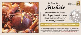 Restaurant la Table de Michèle à Mulhouse
