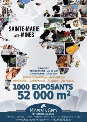 Minéral et Gem 2015 à Sainte-Marie-aux-Mines
