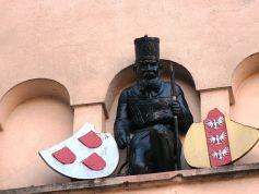 Le mineur, figure de Sainte-Marie-aux-Mines.