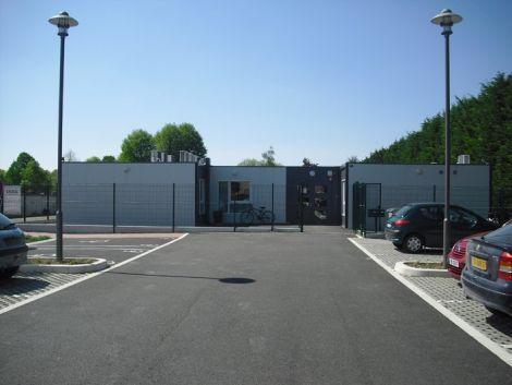 Locaux provisoires de la MJC de Marckolsheim