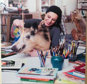 L\'artiste Gerda Dendooven