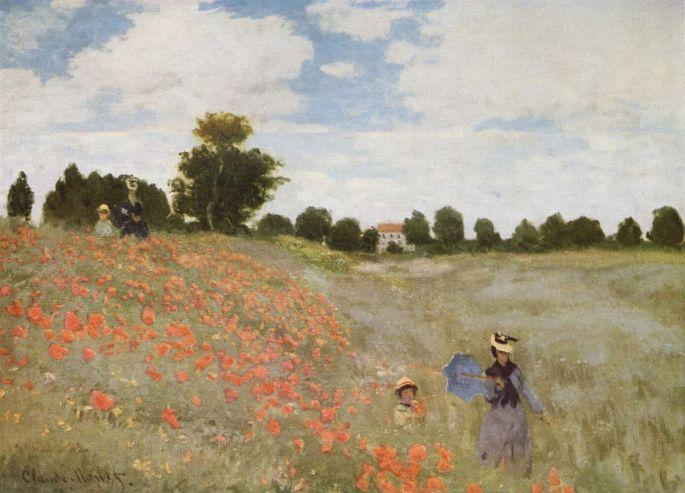 Monet - Les coquelicots