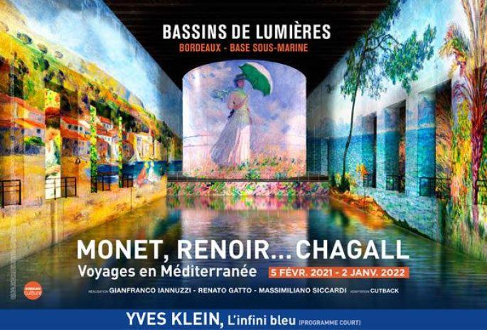 Monet, Renoir... Chagall. Voyages en Méditerranée + Yves Klein, l'infini bleu