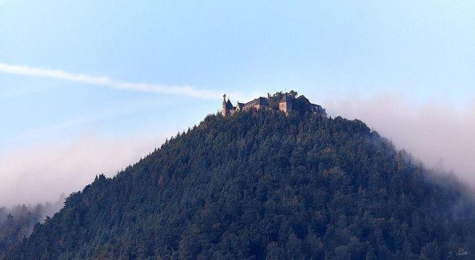 Mont Sainte-Odile et le mur Païen