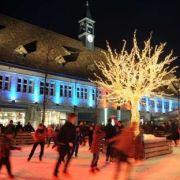 Noël 2017 à Montbéliard : La patinoire de Noël
