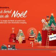 Montez à bord du train de Noël