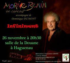 Morice Benin : Infiniment