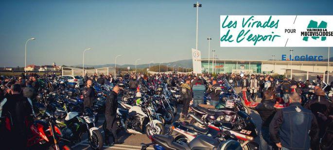 Un rassemblement de motards pour récolter des fonds pour la lutte contre la mucoviscidose