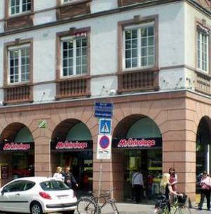 Le magasin Mr Bricolage de Strasbourg est situé au coeur de la ville, près de la place Kléber