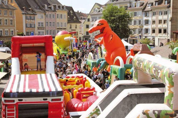 Le centre ville de Mulhouse devient un parc d\'attraction à ciel ouvert !