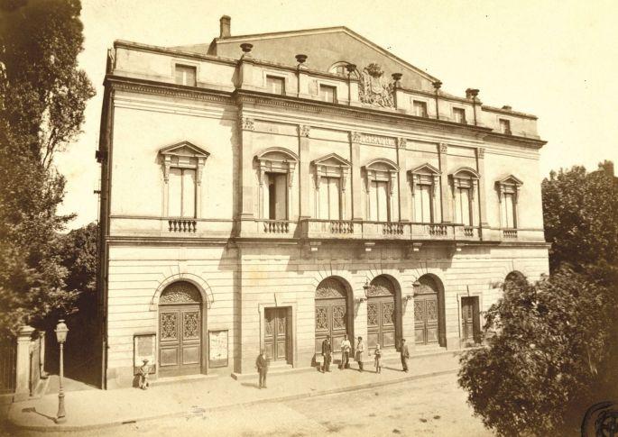 Mulhouse il y a 150 ans : théâtre et société