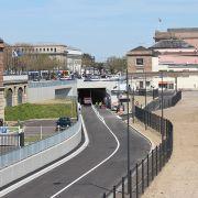 Mulhouse : le tunnel de la gare ouvert !