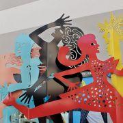 Mulhouse : les Amazones de Sébastien Haller s\'installent en centre-ville