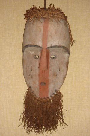 Masque africain du musée de Gunsbach