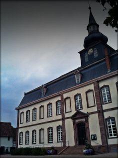 Le Musée archéologique de Brumath se trouve dans le château des Hanau-Lichtenberg