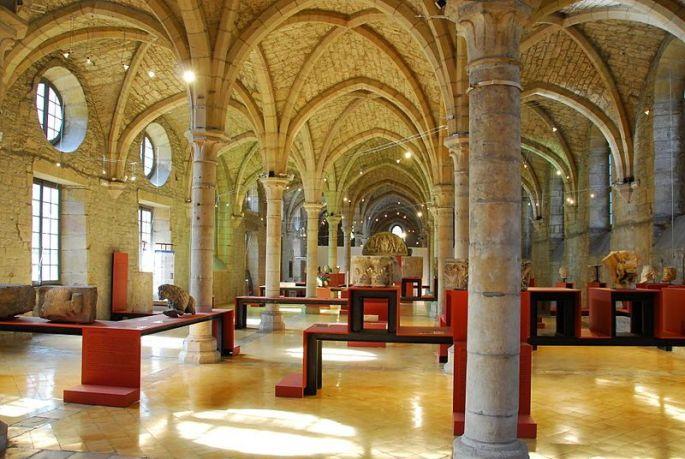 Musée archéologique de Dijon au cœur de l'Abbaye Saint-Bénigne