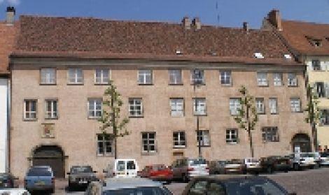 Vue extérieure du musée d\'histoire naturelle et d\'ethnographie de Colmar