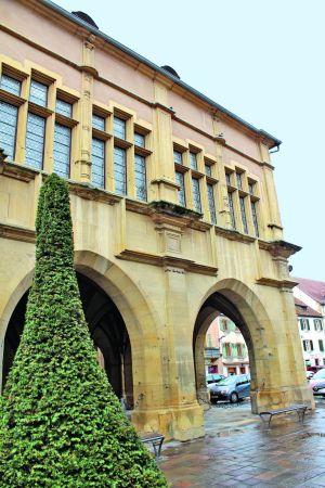 Le musée de la ville d\'Ensisheim, installé dans un palais du XVIème
