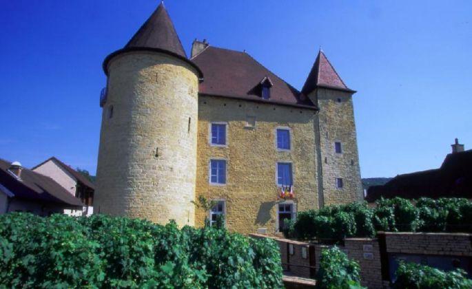 Le château Pécauld dans lequel est installé le Musée de la vigne et du vin