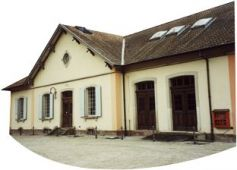 Le Musée des Usines Municipales à Colmar présente des formes anciennes de technologie : électricité, éclairage, eau...