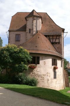 Vue extérieure du Château du Bucheneck